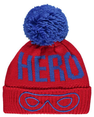 8c27e64d448 Bobble George Red Fleece Lined Hero Hat