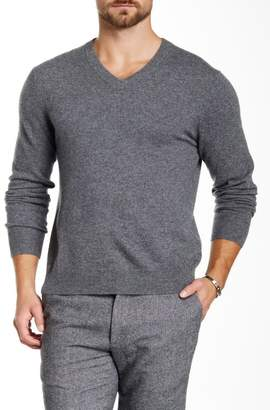 Qi Cashmere V-Neck Sweater