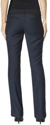 Mossimo Petites Trouser Pants - Officer Blue/Black