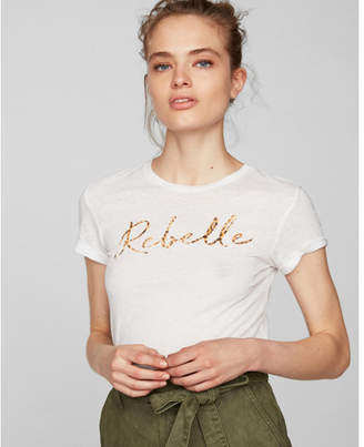 Express rebelle easy graphic tee