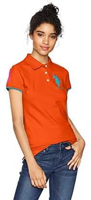 U.S. Polo Assn. Women's Contrast Patch Shirt