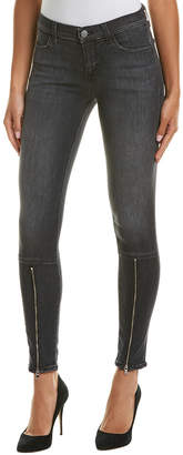 J Brand Black Heath Super Skinny Leg