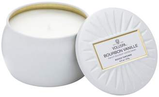 Voluspa Mini Decorative Tin Candle - Bourbon Vanille
