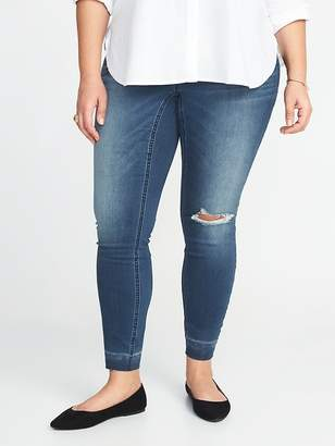 Old Navy High-Rise Plus-Size Rockstar Jeggings