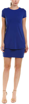 Susana Monaco Double Layer Shift Dress