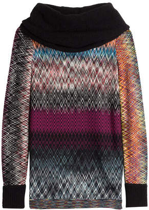 Missoni Pullover with Wool and Alpaca