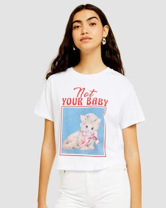 Topshop Not Your Baby T-Shirt