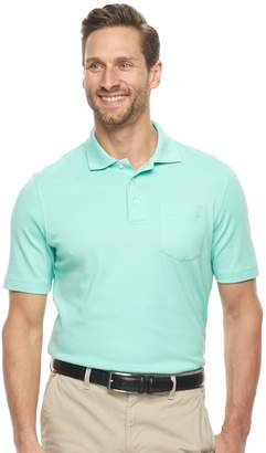 Croft & Barrow Men's Classic-Fit Easy-Care Interlock Pocket Polo