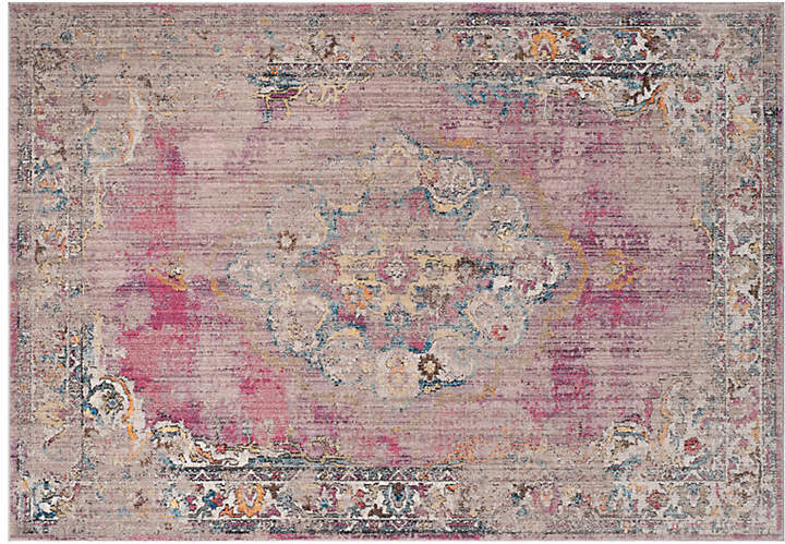 Hardesty Rug - Fuchsia/Light Gray - 9'x12'