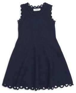 Milly Minis Little Girl's& Girl's Eyelet Fit-&-Flare Dress