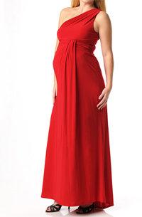 ABS by Allen Schwartz Apeainthepod Collection Sleeveless Drape Front Maternity Dress