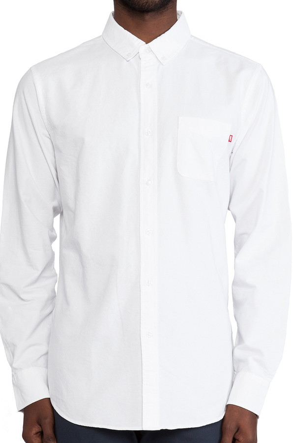 Obey Dissent Oxford Button Down