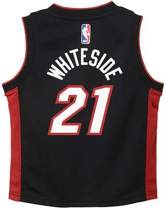 Nike Hassan Whiteside Miami Heat Icon Replica Jersey, Infants (12-24 Months)