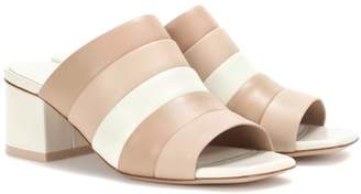 Opening Ceremony Ellenha striped leather sandals