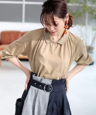 Lacoste (ラコステ) - LACOSTE ボリューム変形ポロシャツ(7分袖)
