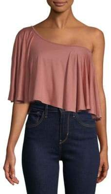 Rachel Pally Remi One-Shoulder Top