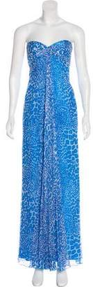 Laundry by Shelli Segal Strapless Maxi Dress w/ Tags
