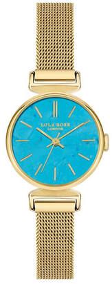 "Lola Rose Creativity"", Ladies, Turquoise Genuine Stone Dial, 24 Mm"