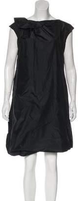 Dusan Dušan Silk Mini Dress
