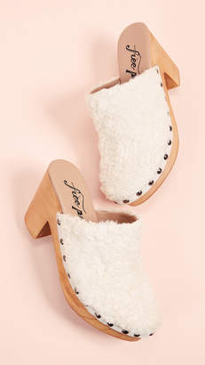 Free People Cabin Fever Clog Mules