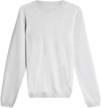 a18f5bb9af Maison Margiela Wool Pullover with Suede Elbow Patches