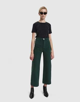 Jesse Kamm Sailor Pant in Forest Service Green