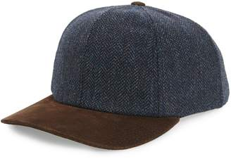 Crown Cap Scottish Tweed Wool Cap