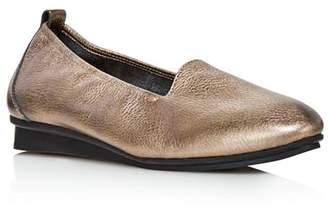 Arche Women's Ninolo Metallic Leather Flats
