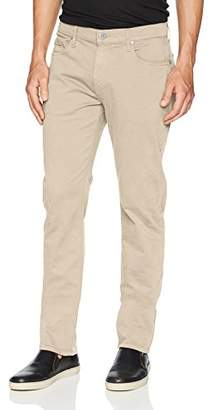 Paige Men's Normandie Slim Straight Leg Twill Pant