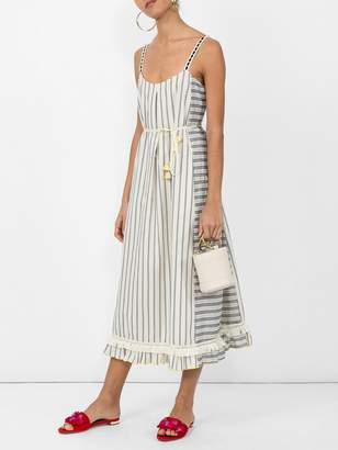 Lemlem Ami fringe maxi dress