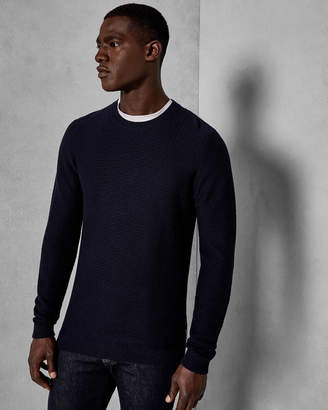 Ted Baker PERCYPI Textured wool sweater