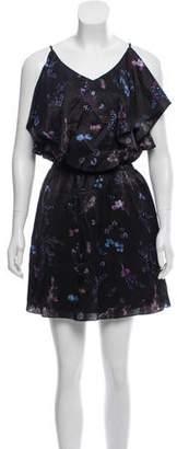 Rachel Zoe Floral Print Cold Shoulder Dress