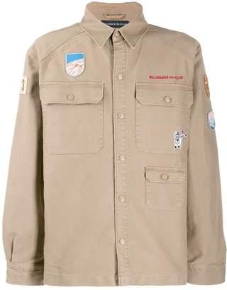 Billionaire Boys Club embroidered army shirt