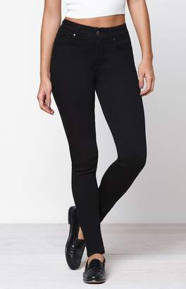 Levi's Soft Black 721 High Rise Skinny Jeans