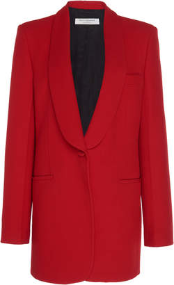 Philosophy di Lorenzo Serafini Oversized Collar-Detailed Twill Blazer