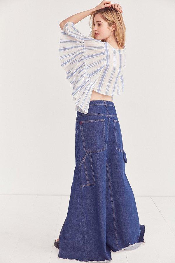 BDG Skate Denim Maxi Skirt
