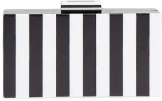 Like Dreams Pippa Stripe Box Clutch