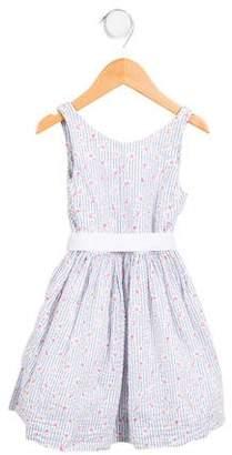 Polo Ralph Lauren Girls' Printed Sleeveless Dress