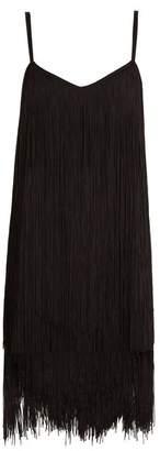Raey Long-fringe slip dress