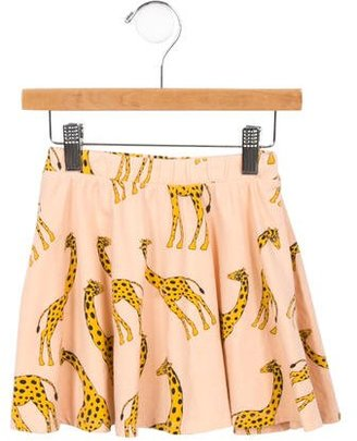 Mini Rodini Girls' Printed A-Line Skirt $45 thestylecure.com