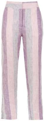 Alcaçuz Filomena linen trousers