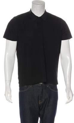 Theory Woven Polo Shirt