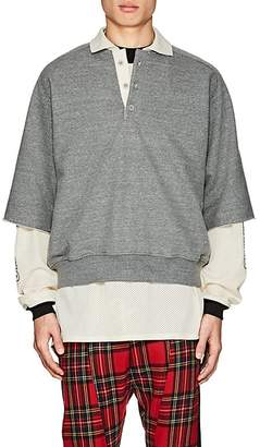 Fear Of God Men's Cotton-Blend Terry Oversized Polo Shirt