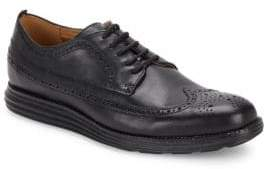 Cole Haan Original Grand Leather Wing-Tip Dress Shoes
