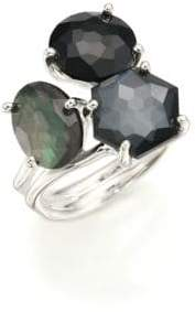 Ippolita Rock Candy Black Tie Semi-Precious Multi-Stone & Sterling Silver Cluster Ring