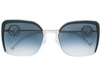 Fendi Eyewear oversized sunglasses