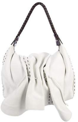 Carlos Falchi Fatto a Mano by Leather Butterfly Bag