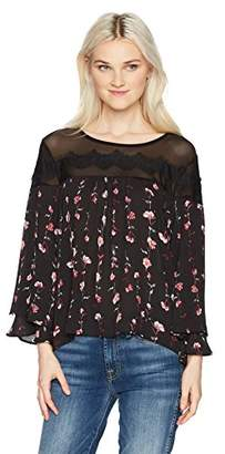 My Michelle Junior's Floral Print Top