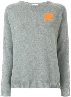 Bella Freud star intarsia sweater