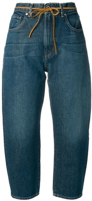 Levi's Made & Crafted dark wash Barrel jeans